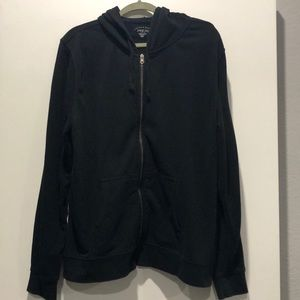 Threads 4 thought black zip up hoodie jacket
